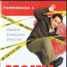 Series de TV: MONK TEMPORADA 2. Lote 216763872