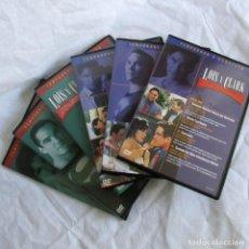 Series de TV: LOIS Y CLARK, TEMPORADAS 3 + 4 COMPLETAS. Lote 216898070