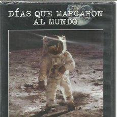 Séries TV: DVD LA LLEGADA DEL HOMBRE A LA LUNA Y EL PRIMER VUELO A MOTOR.DÍAS QUE MARCARON AL MUNDO.BBC,4.2003.. Lote 217054753