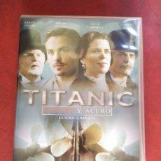 Series de TV: SERIE COMPLETA DVD TITANIC SANGRE Y ACERO CLARAN DONNELLY DIRECTOR VIKINGOS. Lote 217590545