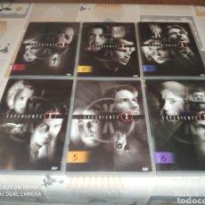 Series de TV: 1° TEMPORADA EXPEDIENTE X (DVD: 1,2,3,4,5,6). Lote 218048377