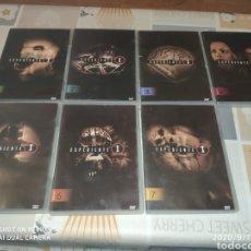 Series de TV: 2° TEMPORADA EXPEDIENTE X (DVD: 1,2,3,4,5,6,7). Lote 218048466