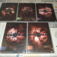 Series de TV: 4° TEMPORADA EXPEDIENTE X (DVD: 1,2,3,4,5). Lote 218048680