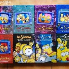 Series de TV: SERIE TV DIBUJOS ANIMADOS - LOS SIMPSON TEMPORADA 1 2 3 4 5 6 7 Y 8 - MATT GROENING ( FUTURAMA ). Lote 218121728