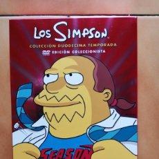 Series de TV: SERIE TV DIBUJOS ANIMADOS - LOS SIMPSON TEMPORADA 12 - MATT GROENING ( FUTURAMA ). Lote 218122308