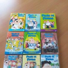 Series de TV: 04-00064-65-66-67-68-69-70-71-72 -PACK TEMPORADAS DVD PADRE DE FAMILIA. Lote 218157001