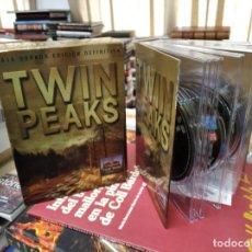 Series de TV: TWIN PEAKS . CAJA DORADA EDICIÓN DEFINITIVA. TODOS SUS 29 CAPÍTULOS + EPISODIO PILOTO . 10 DISCOS.. Lote 218442152
