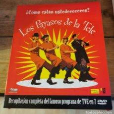 Series de TV: LOS PAYASOS DE LA TELE DVD , RECOPILACION EN 7 DVD. Lote 218563743