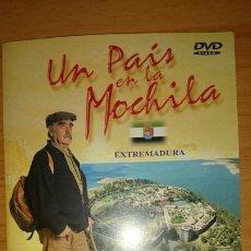 Serie di TV: DVD UN PAIS EN LA MOCHILA VALLE DEL AMBROZ, EXTREMADURA JOSE.ANTONIO. LABORDETA. Lote 218846492