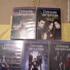 Series de TV: LAS 5 TEMPORADAS DE LA SERIE CRONICAS VAMPIRICAS .WB.. Lote 219225905