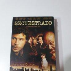 Series de TV: SECUESTRADO SERIE COMPLETA DE 3 DISCOS, NUEVO PRECINTADO ORIGINAL, EXCEPTO EL DISCO 1 SOLO ABIERTO.. Lote 219237237