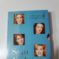 Series de TV: SEXO EN NUEVA YORK,LA TEMPORADA 4 COMPLETA.. Lote 219237940