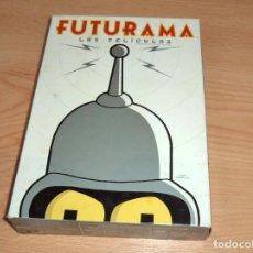 Series de TV: FUTURAMA : LAS PELICULAS, EN DVD. Lote 219248133