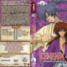 Series de TV: KENSHIN EL GUERRERO SAMURAI DVD VOL 1 (SERIE TV). Lote 219747532