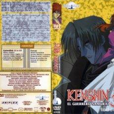 Series de TV: KENSHIN EL GUERRERO SAMURAI DVD VOL 3 (SERIE TV). Lote 219747801