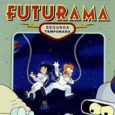 Series de TV: FUTURAMA: SEGUNDA TEMPORADA. Lote 219872528