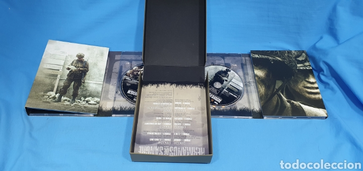 Series de TV: SERIE EN DVD 10 CAPITULOS BAND OF BROTHERS - HERMANOS DE SANGRE - Foto 4 - 219984425
