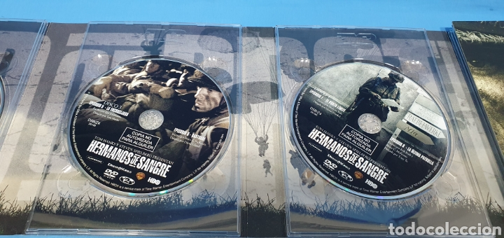 Series de TV: SERIE EN DVD 10 CAPITULOS BAND OF BROTHERS - HERMANOS DE SANGRE - Foto 6 - 219984425