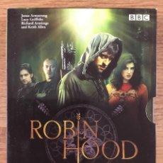 Serie di TV: ROBIN HOOD TEMPORADA 1 COMPLETA 4 DVD SERIE TV BBC 2007 573 MIN. Lote 220378593
