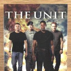 Séries de TV: THE UNIT TEMPORADA 2 COMPLETA 6 DVD 1035 MINUTOS. Lote 220510562