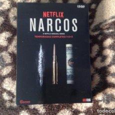 Series de TV: NARCOS COLOMBIA TRES TEMPORADAS COMPLETA EN DVD COMO NUEVA.. Lote 220763253