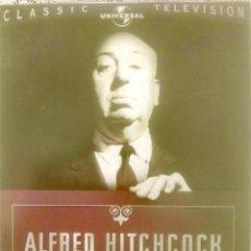 Series de TV: ALFRED HITCHCOCK PRESENTA.TEMPORADA 1.39 EPISODIOS.6 DVD SET+16 PAGE BOOKLET.. Lote 221108863