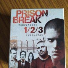 Series de TV: PRISON BREAK, PACK TEMPORADAS 1, 2 Y 3 COMPLETAS, 57 EPISODIOS, 16 DISCOS.. Lote 221366216