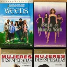 Series de TV: LOTE PACK SERIES DVD - MUJERES DESESPERADAS SEXO EN NUEVA YORK WEEDS TEMPORADA 1. Lote 221407540