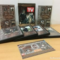 Series de TV: DVD SERIE TVE CURRO JIMÉNEZ - PRIMERA TEMPORADA - LOS 13 CAPÍTULOS EN 4 DVDS. VELLA VISIÓN, 2003. Lote 221431760