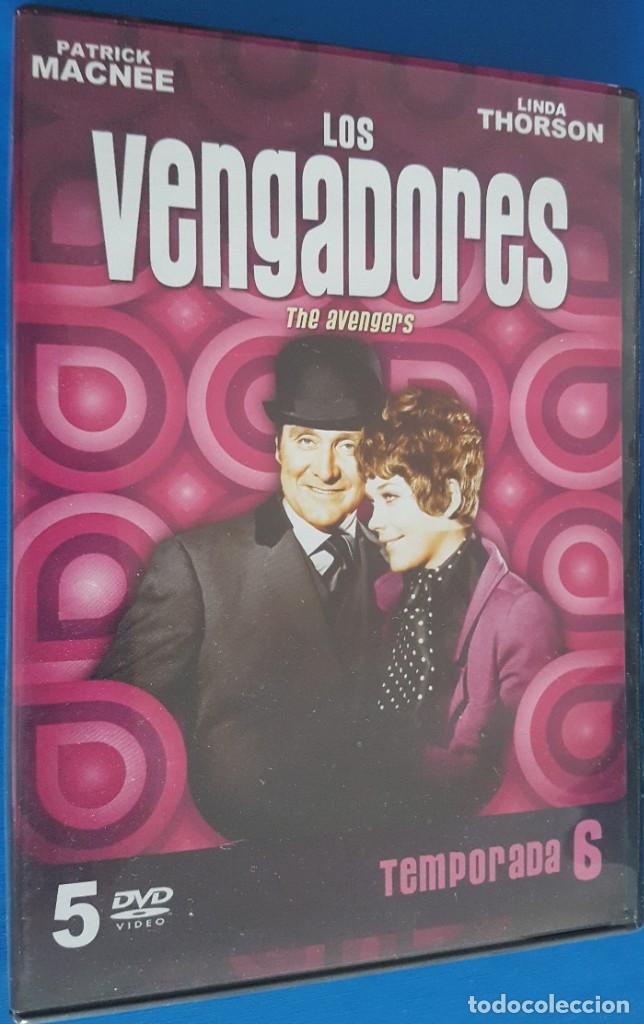 DVD / LOS VENGADORES, TEMPORADA 6 (5 DVDS), COMO NUEVOS (Series TV en DVD)