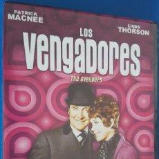 Series de TV: DVD / LOS VENGADORES, TEMPORADA 6 (5 DVDS), COMO NUEVOS. Lote 221516032