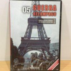 Series de TV: DVD II GUERRA MUNDIAL Nº 5 - GUERRA RELÁMPAGO BLITZKRIEG. BBC (2009). PRECINTADO - OFERTA 3X4. Lote 221610861