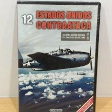 Series de TV: DVD II GUERRA MUNDIAL Nº 12 - ESTADOS UNIDOS CONTRAATACA. BBC (2009). PRECINTADO - OFERTA 3X4. Lote 221611692