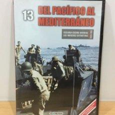 Series de TV: DVD II GUERRA MUNDIAL Nº 13 - DEL PACÍFICO AL MEDITERRÁNEO. BBC (2009). PRECINTADO - OFERTA 3X4. Lote 221611790