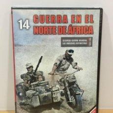 Series de TV: DVD II GUERRA MUNDIAL Nº 14 - GUERRA EN EL NORTE DE ÁFRICA. BBC (2009). PRECINTADO - OFERTA 3X4. Lote 221611867