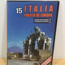 Series de TV: DVD II GUERRA MUNDIAL Nº 15 - ITALIA, PUERTA DE EUROPA. BBC (2009). PRECINTADO - OFERTA 3X4. Lote 221612511