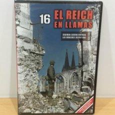 Series de TV: DVD II GUERRA MUNDIAL Nº 16 - EL REICH EN LLAMAS. BBC (2009). PRECINTADO - OFERTA 3X4. Lote 221612572