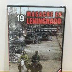 Series de TV: DVD II GUERRA MUNDIAL Nº 19 - MASACRE EN LENINGRADO. BBC (2009). PRECINTADO - OFERTA 3X4. Lote 221612805