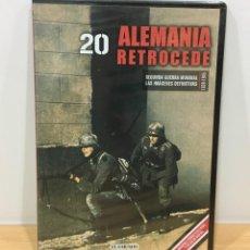Series de TV: DVD II GUERRA MUNDIAL Nº 20 - ALEMANIA RETROCEDE. BBC (2009). PRECINTADO - OFERTA 3X4. Lote 221612975