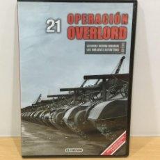 Series de TV: DVD II GUERRA MUNDIAL Nº 21 - OPERACIÓN OVERLORD. BBC (2009). PRECINTADO - OFERTA 3X4. Lote 221613056