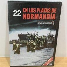 Series de TV: DVD II GUERRA MUNDIAL Nº 22 - EN LAS PLAYAS DE NORMANDÍA. BBC (2009). PRECINTADO - OFERTA 3X4. Lote 221613156