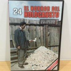 Series de TV: DVD II GUERRA MUNDIAL Nº 24 - EL HORROR DEL HOLOCAUSTO. BBC (2009). PRECINTADO - OFERTA 3X4. Lote 221613315