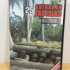 Series de TV: DVD II GUERRA MUNDIAL Nº 25 - GUERRA EN LAS ISLAS. BBC (2009). PRECINTADO - OFERTA 3X4. Lote 221613491