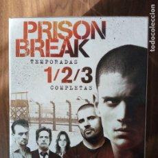 Series de TV: PRISON BREAK TEMPORADAS 1 / 2 / 3 COMPLETAS. Lote 221710786