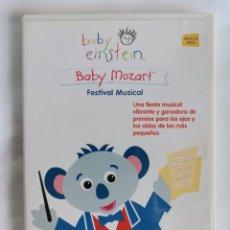 Series de TV: BABY EINSTEIN BABY MOZART DVD. Lote 221845902