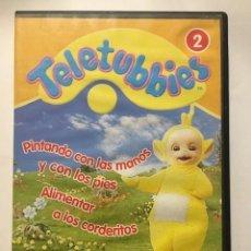 Series de TV: TELETUBBIES 2. PINTANDO CON LAS MANOS Y CON LOS PIES. ALIMENTAR A LOS CORDERITOS. Lote 221903187