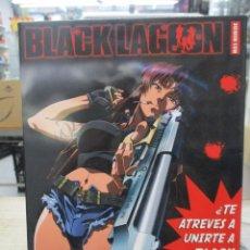 Series de TV: DVD - ANIME - BLACK LAGOON - EDICION COLECCIONISTA - 24 EPISODIOS COMPLETA - ESPAÑOL. Lote 221939676