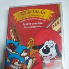 Series de TV: DVD - D´ARTACÁN Y LOS TRES MOSQUEPERROS ( SERIE COMPLETA ) - NUEVO Y PRECINTADO. Lote 222187373