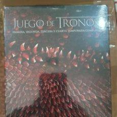 Series de TV: DVD - JUEGO DE TRONOS ( TEMPORADAS 1, 2, 3 Y 4 COMPLETAS ) - NUEVO Y PRECINTADO. Lote 222225400