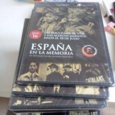 Series de TV: LOTE 19 DVDS ESPAÑA EN LA MEMORIA ALFONSO ARTESEROS LA GECETA. Lote 222230076